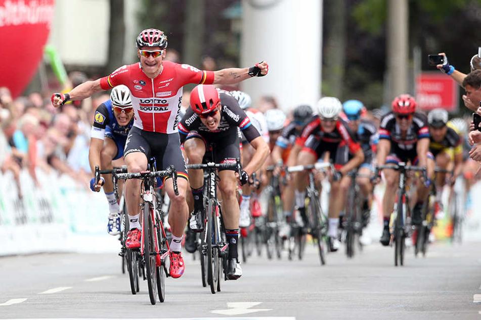 Mega Sport-Event in der City: Die Deutsche Meisterschaft im Straßenradsport ist die Chance, um sich für die Tour de France zu qualifizieren.