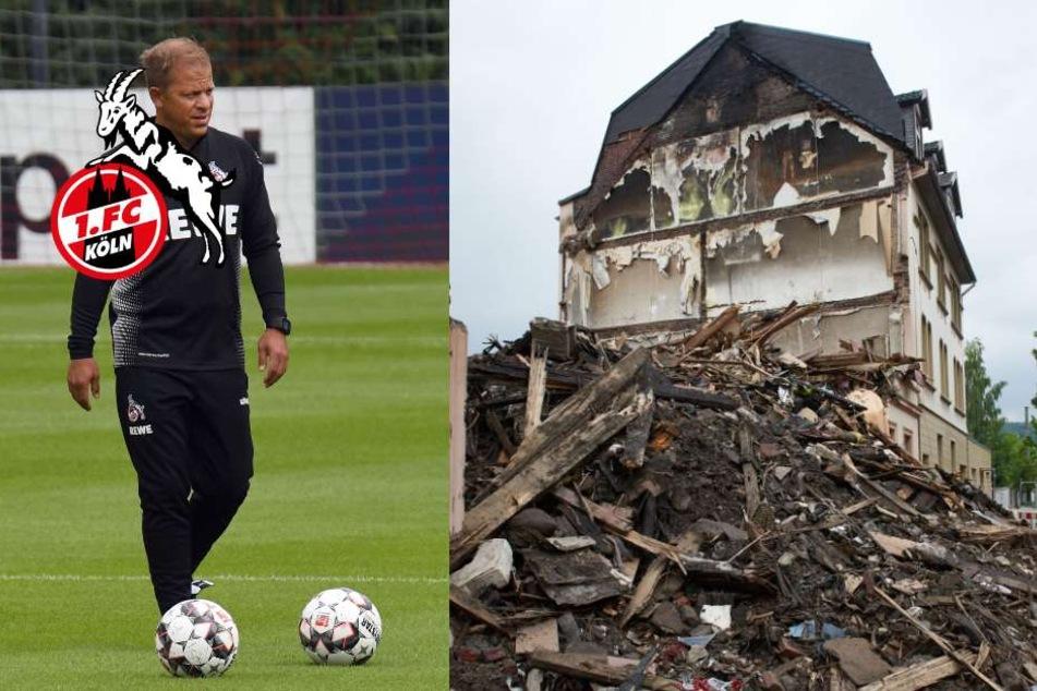 1. FC Köln spendet für Betroffene der Explosion in Wuppertal