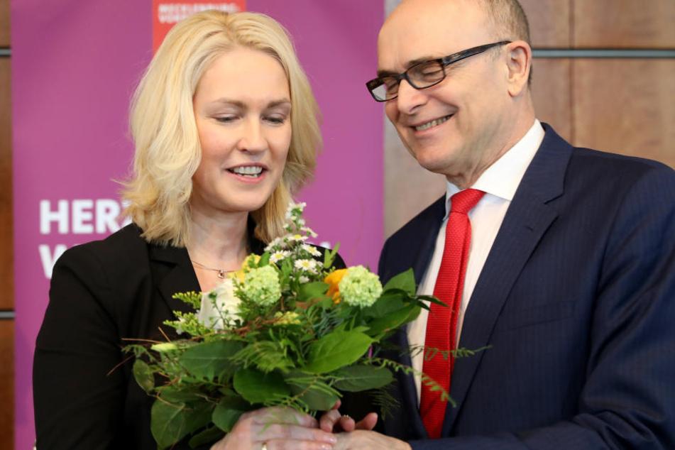 Bundesfamilienministerin Manuela Schwesig könnte nun seine Nachfolge antreten.