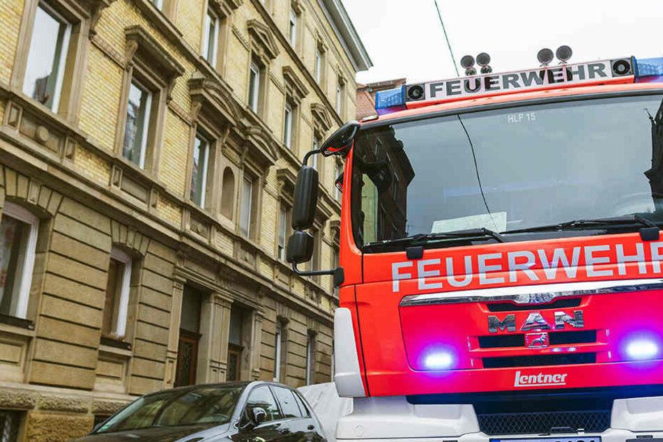 In Görlitz musste ein Ehepaar aus seiner Wohnung befreit werden.