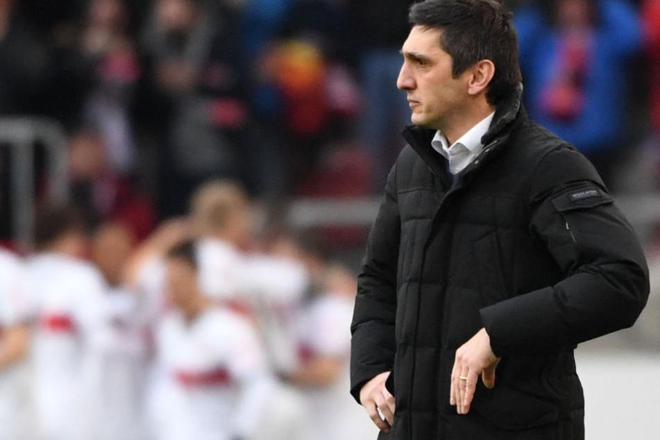 Unter ihm holte der VfB am Sonntag drei Punkte: Neu-Coach Tayfun Korkut.