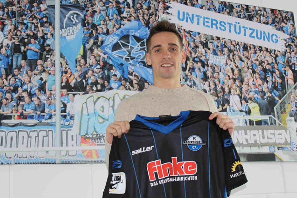 Philipp Klement bekommt in Paderborn die Rückennummer 21.