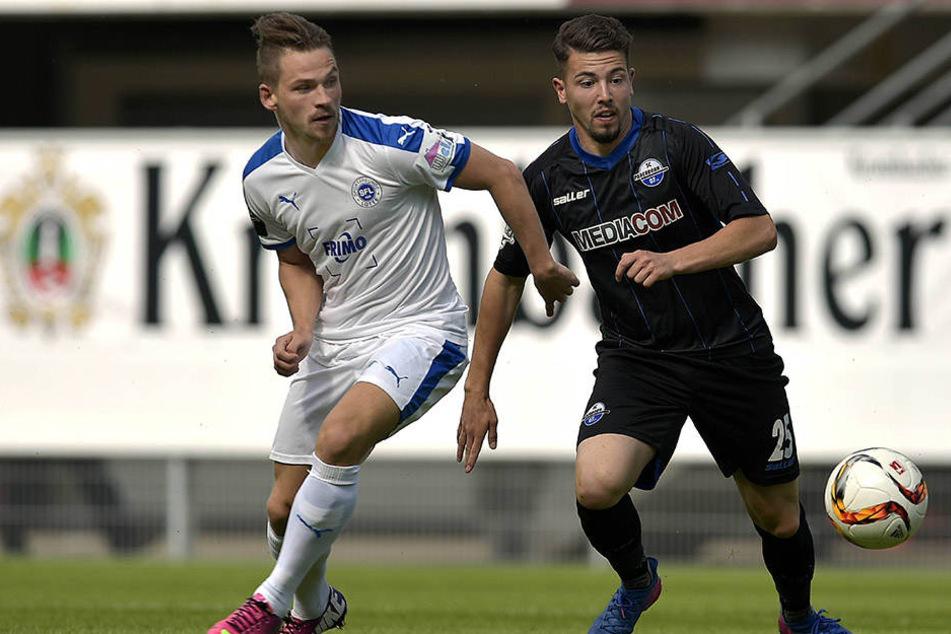 Aykut Soyak (re.) wurde gegen Ende der vergangenen Saison zum wichtigen Torjäger.