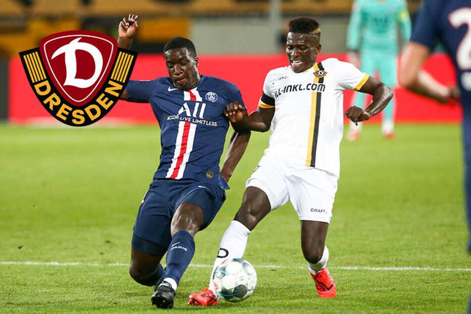 Dynamo-Stürmer Koné fällt verletzt aus!