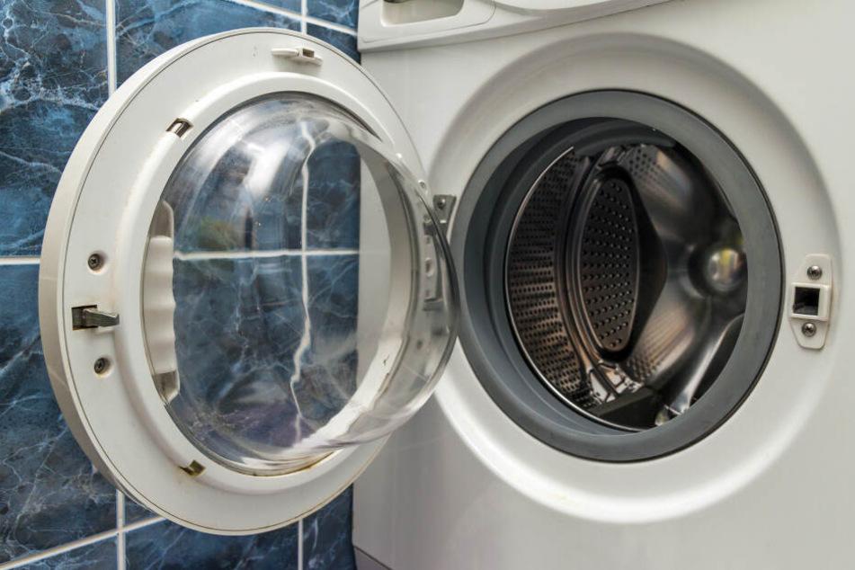 Die Waschmaschine hatte anscheinend ihren Geist aufgegeben. (Symbolbild)