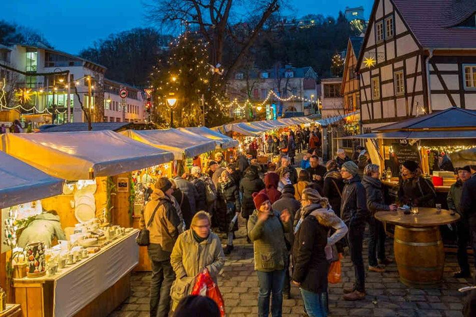 Klein, aber fein: Am Sonnabend eröffnet er Loschwitzer Weihnachtsmarkt.