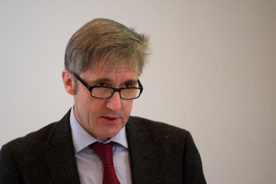 Frank Richter, Direktor der Landeszentrale für politische Bildung, ist besorgt über die politische Stimmung in Sachsen.