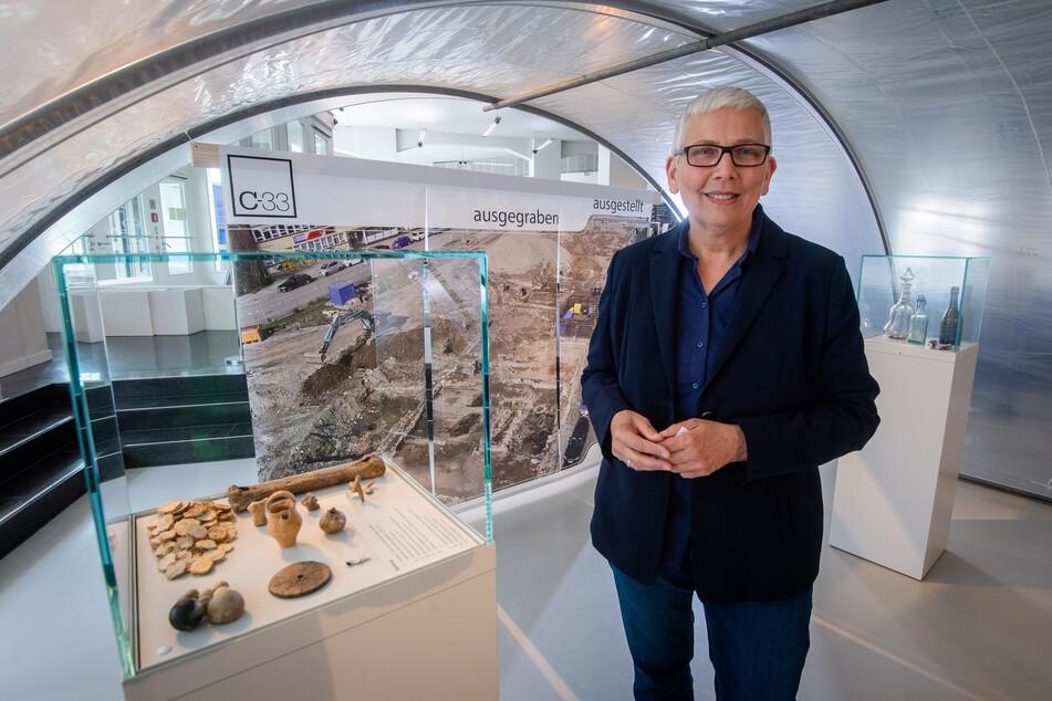 Archäologin Christiane Hemker (61) war überrascht von der Fülle der Funde.