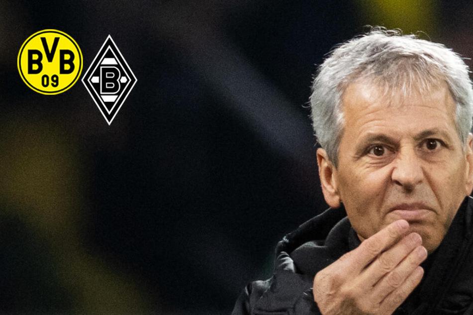 BVB vor brisantem Borussen-Duell unter Druck! Gladbach fehlen zwölf Spieler