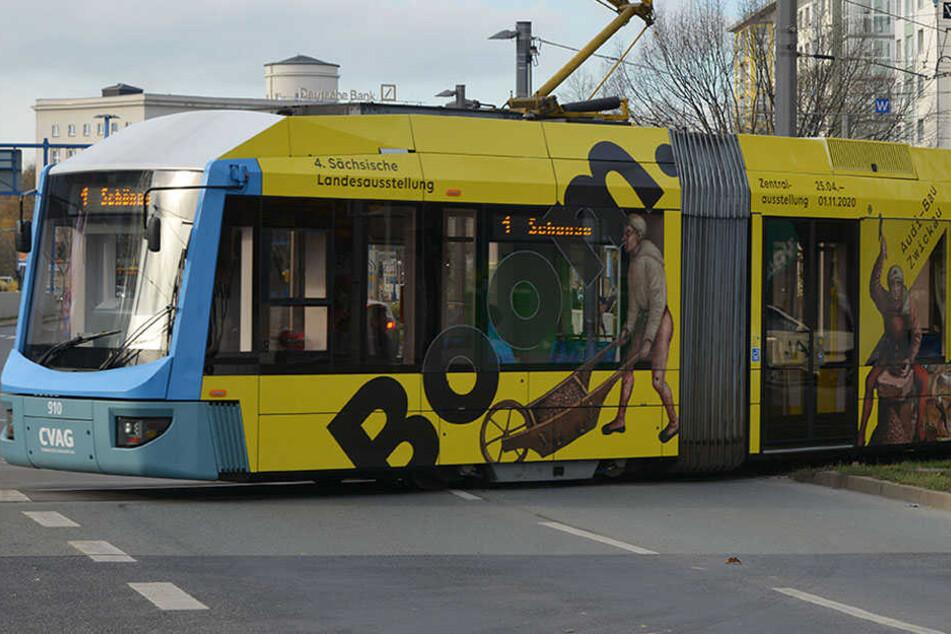Chemnitz: Wie kommt eigentlich die Werbung auf Chemnitzer Straßenbahnen?