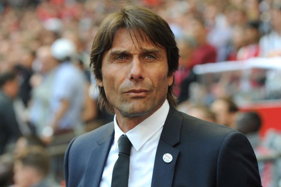 Antonio Conte war bis Juli 2018 Trainer des FC Chelsea.