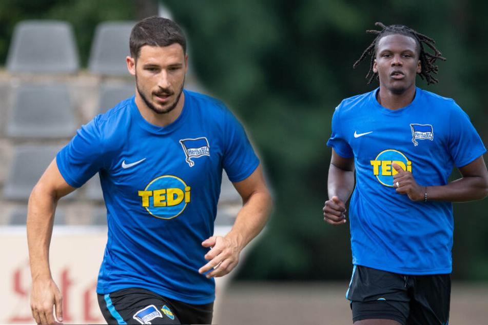 Sowohl Leckie als auch Boyata kamen beim 2:1-Testspielerfolg am Donnerstag über Fenerbahce Istanbul eine Halbzeit zum Einsatz. (Bildmontage)