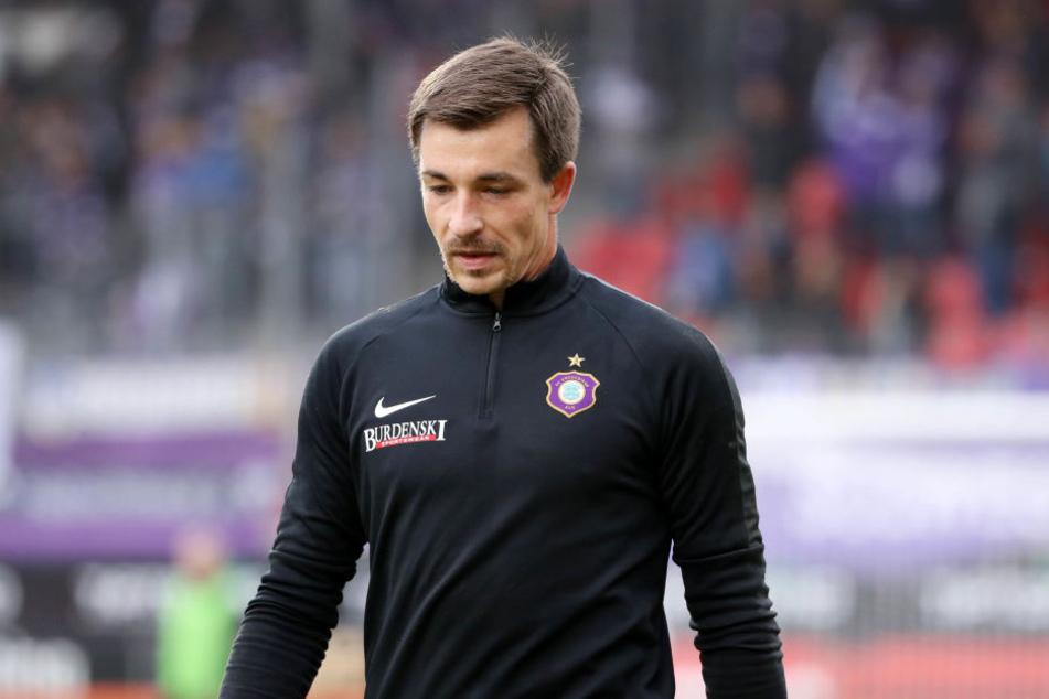 Aue-Keeper Martin Männel fällt gegen den HSV verletzt aus.