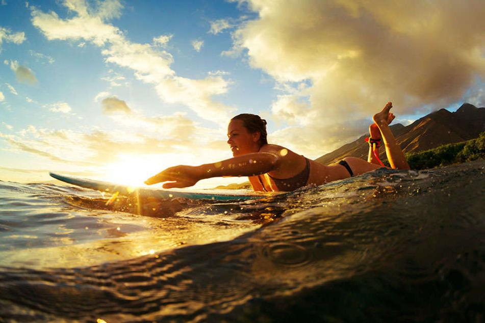 Die Osterinsel hat zwar kaum Bäume, nur eine Stadt und zwei Strände. Doch dank einer ständigen frischen Brise ist sie ein Paradies für Surfer.