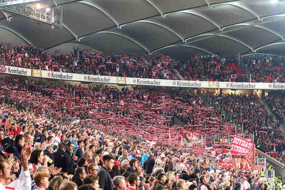 VfB Stuttgart gegen den 1. FC Köln.