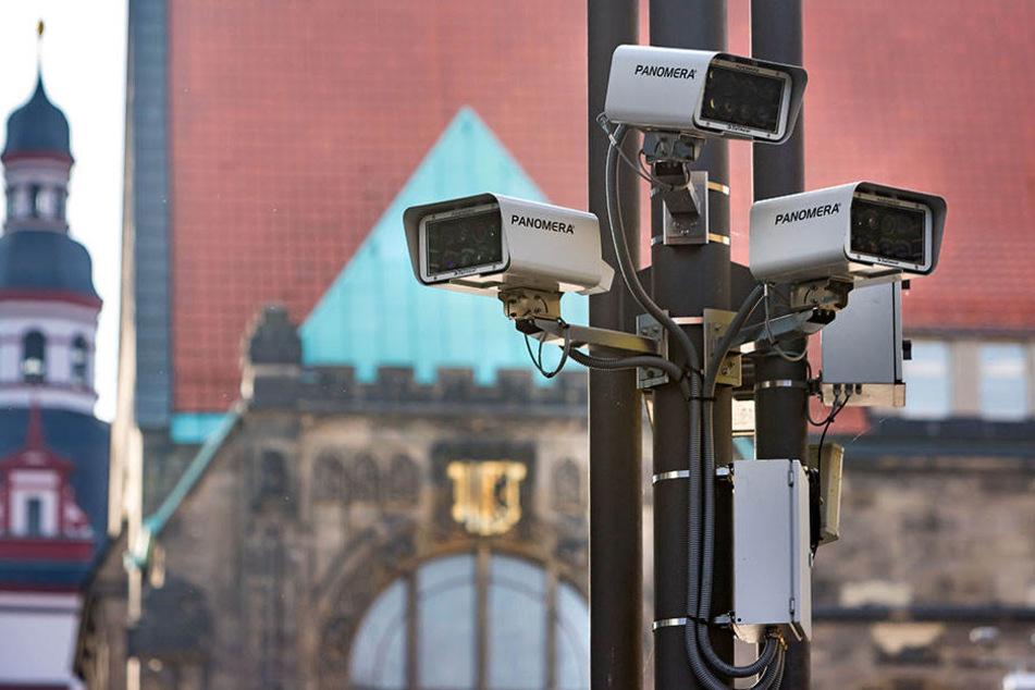 Die umstrittene Videoüberwachung in Chemnitz. Nach wie vor fehlen Datenschutz-Unterlagen.