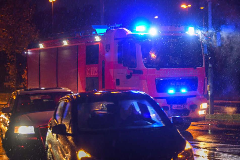 Rund 70 Feuerwehrmänner eilten zur Brandstelle. (Symbolbild)