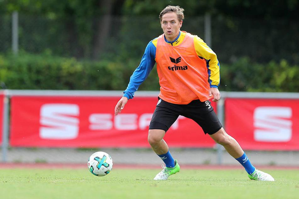 Seit der U14 war der 20-Jährige bei der Braunschweiger Eintracht.