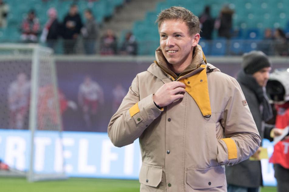 """Hoffenheims Trainer Julian Nagelsmann findet den engen Kampf um Europa """"sehr reizvoll""""."""