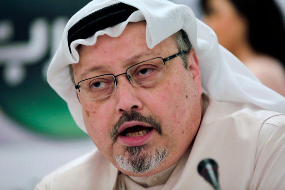 Der Journalist Jamal Khashoggi wurde Anfang Oktober getötet.