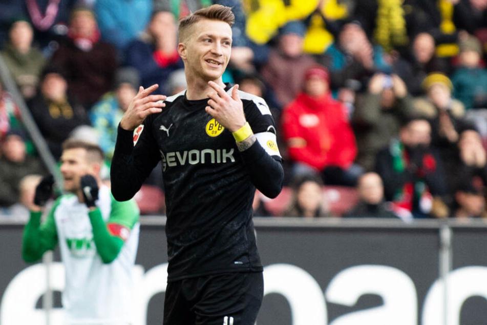 Marco Reus haderte mit seiner eigenen Chancenverwertung! Der BVB-Kapitän ließ wieder mal mehrere große Möglichkeiten ungenutzt.