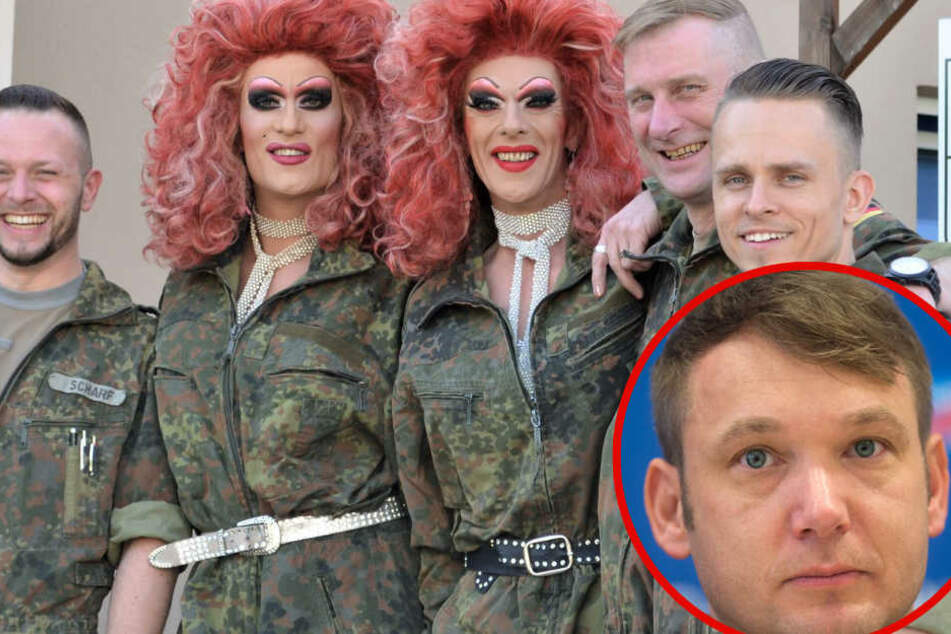 """""""Landesverrat!"""" AfD-Poggenburg schockiert über Travestie-Besuch in Kaserne"""