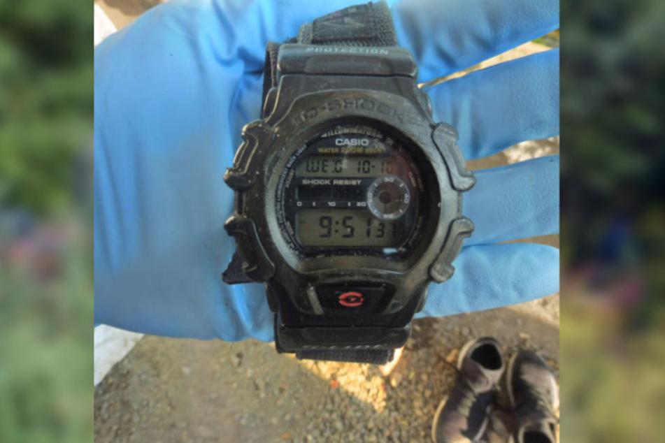 Zudem trug der Tote diese Uhr.