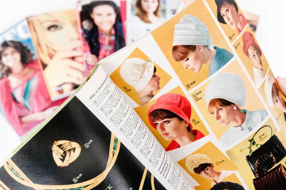 Ein Blick in alte Otto-Kataloge zeigt, was damals angesagt war - wie hier Frauenhüte in den 1970ern.