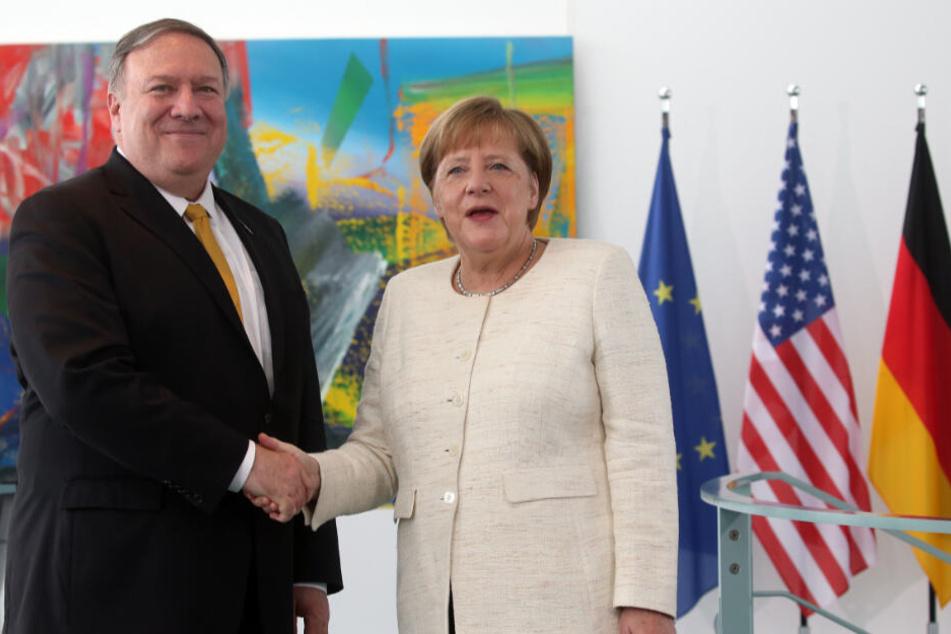 Erst im Mai war der US-Außenminister zu politischen Gesprächen in Deutschland gewesen.