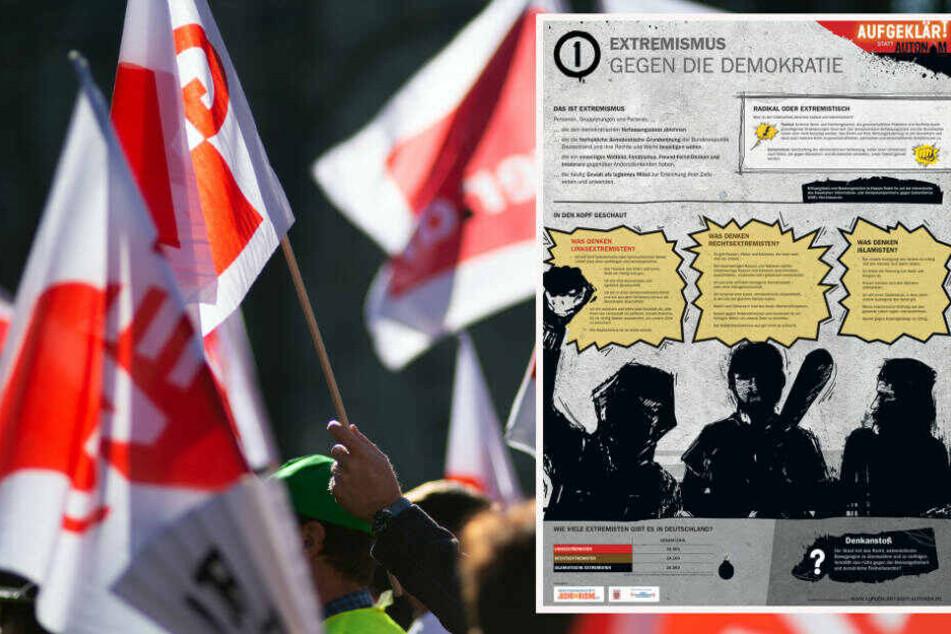 Lehrer-Gewerkschaft kritisiert Schul-Kampagne gegen Linksextremismus