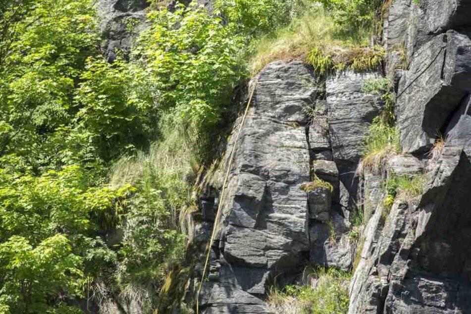 Der Kletterer war in der Wolfsschlucht in Wolkenstein unterwegs.