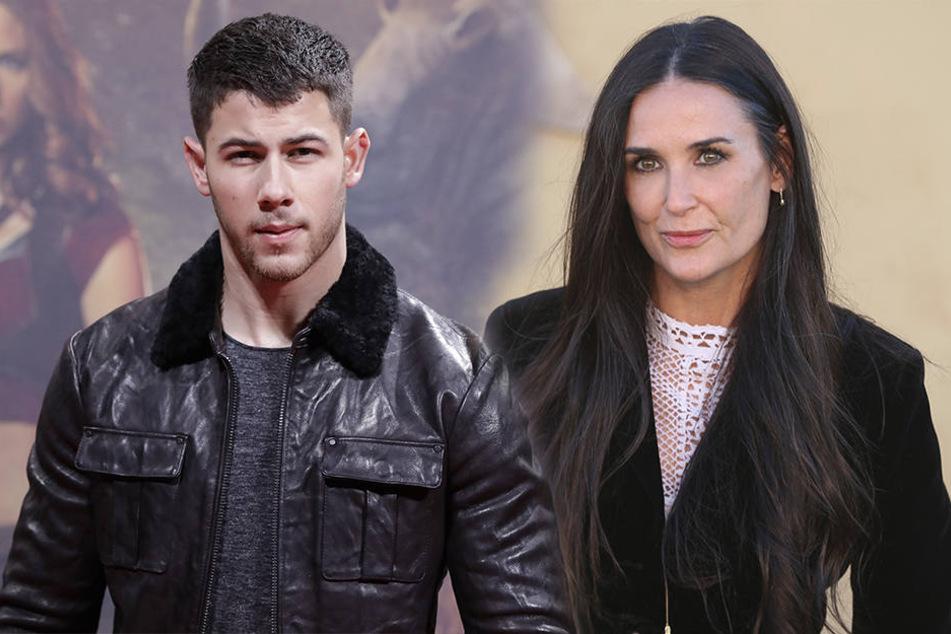 Geht da was zwischen Nick Jonas und Demi Moore?