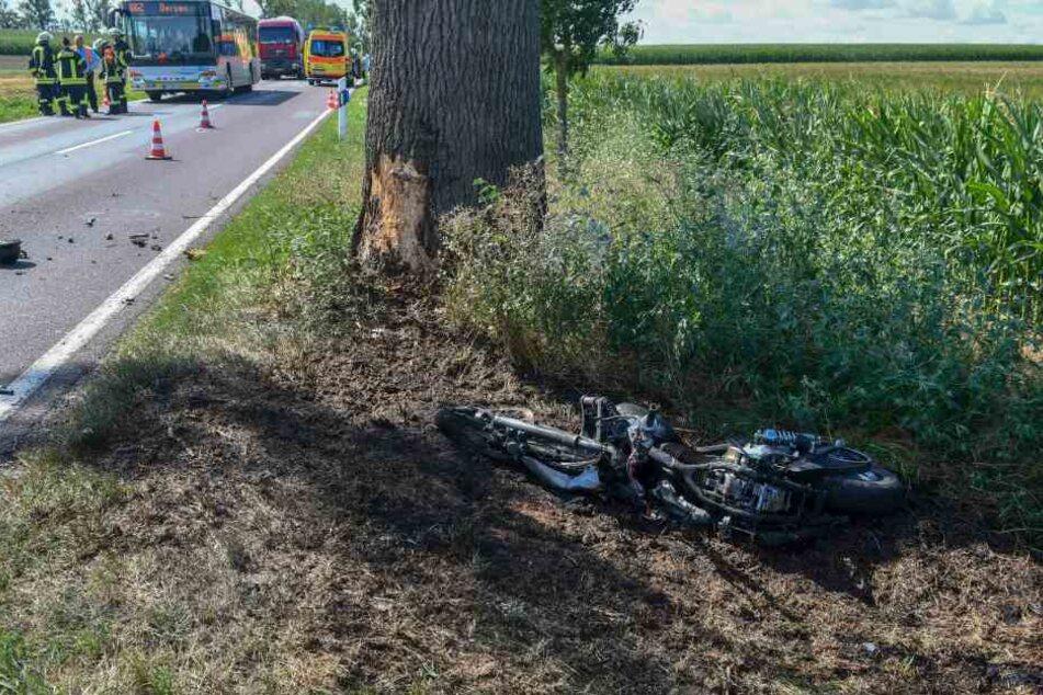 Laut Feuerwehr war der 60-Jährige sofort tot.