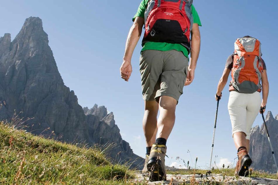 Zwei Wanderer musste am Kehlstein von der Bergrettung gerettet werden. (Symbolbild)