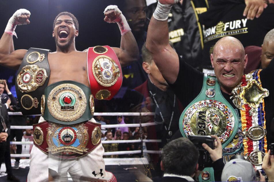 Legenden-Fight: Weltmeister Joshua und Fury wollen zweimal gegeneinander boxen