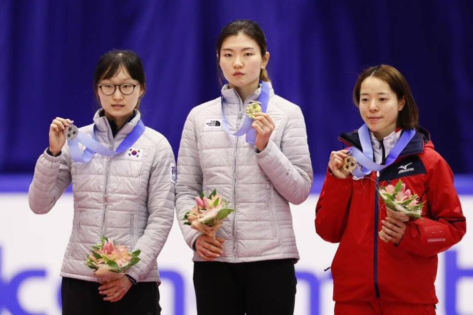 Profi-Sportlerinen wir die Shorttrackerinnen aus Südkorea klagen über sexuellen Belästigung und Missbrauch.