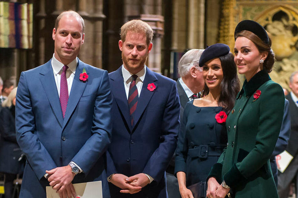 Herrscht unter den jungen Royals dicke Luft?