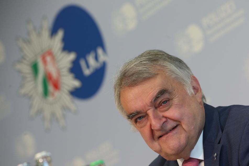 NRW-Innenminister Herbert Reul stellte das Projekt am Freitag vor.