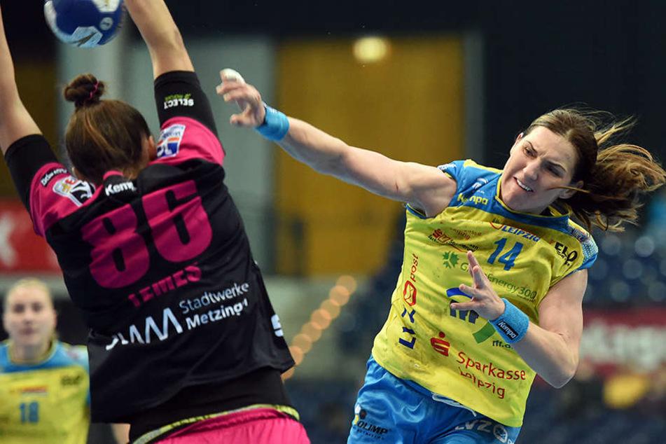 Wird in der kommenden Saison für den Deutschen Meister auflaufen: Spielführerin Karolina Kudlacz-Gloc.