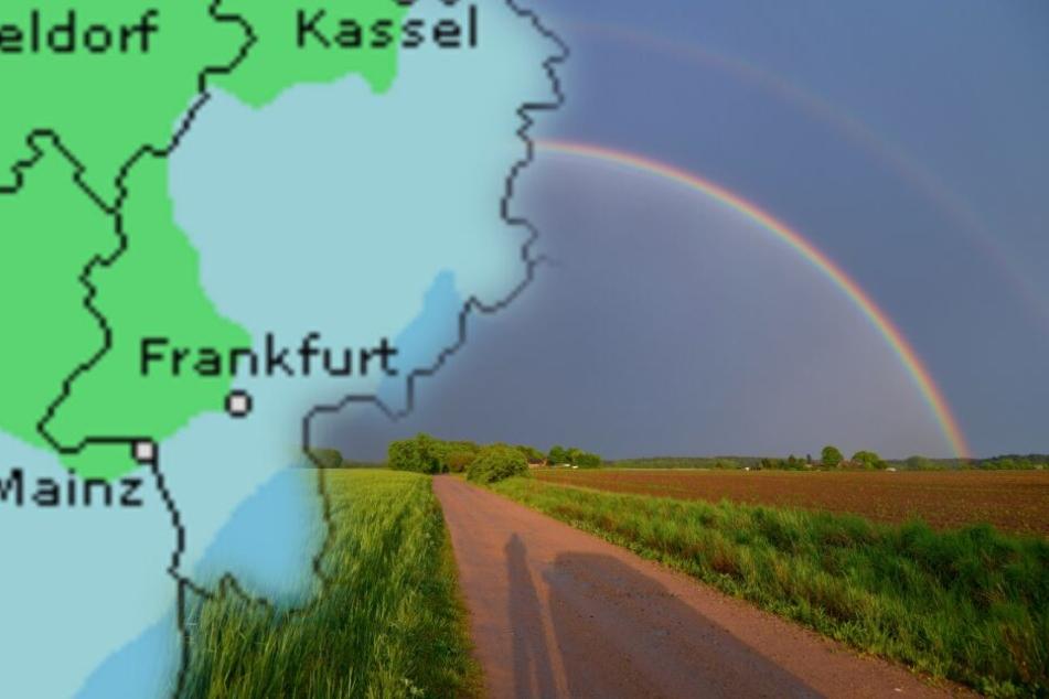 Wetter-Mischmasch am Pfingstwochenende in Hessen, aber keine Hitze!