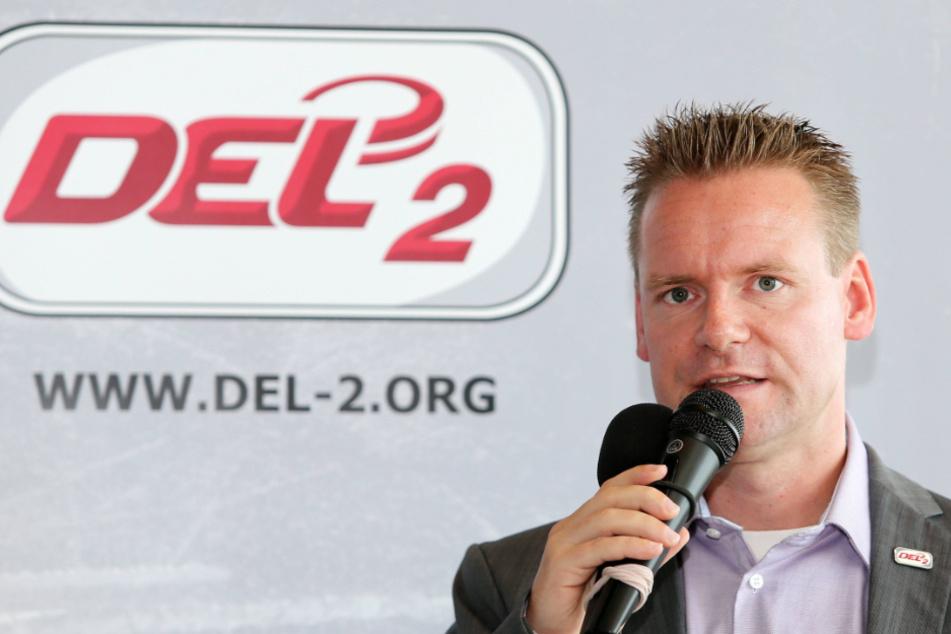 DEL2-Geschäftsführer René Rudorisch kämpft um den Saisonstart.