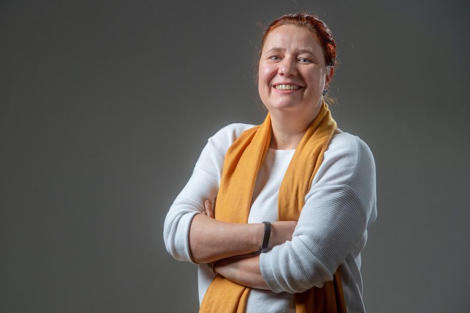 Wurde erneut als Fraktionsvorsitzende bestätigt: Kathleen Kuhfuß (40, Grüne).