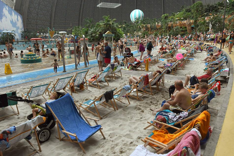 Das Freizeitresort Tropical Islands wird auch von vielen Gästen aus anderen Bundesländern gern besucht.