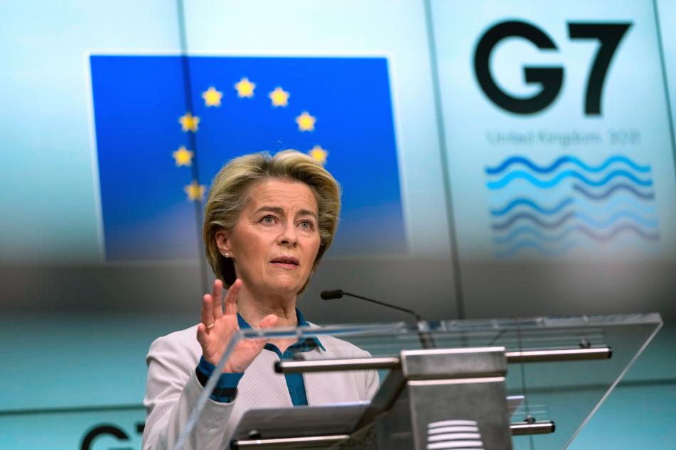 EU-Kommissionspräsidentin Ursula von der Leyen beklagt eine globale Bildungskrise durch die Corona-Pandemie.