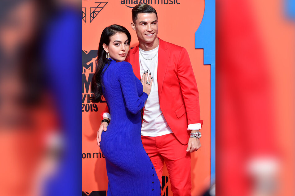 Georgina Rodriguez (27) an der Seite ihres Freundes Cristiano Ronaldo (36).