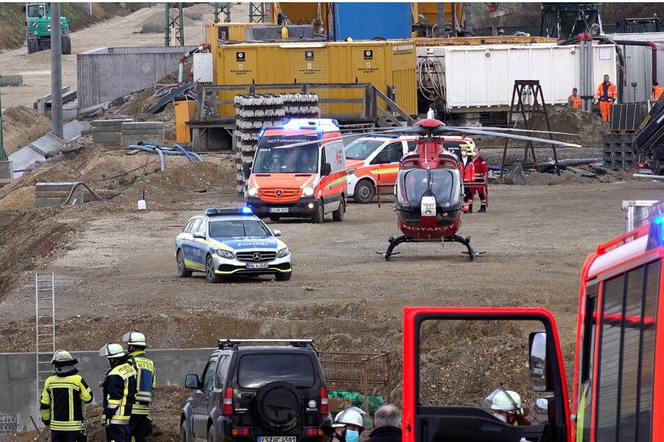 Tragisches Unglück auf S21-Baustelle! Arbeiter von Nagelwalze begraben!