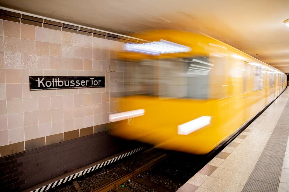 Auf dem Bahnsteig der Linie U8 am Kottbusser Tor kam es zum Streit. (Archivbild)