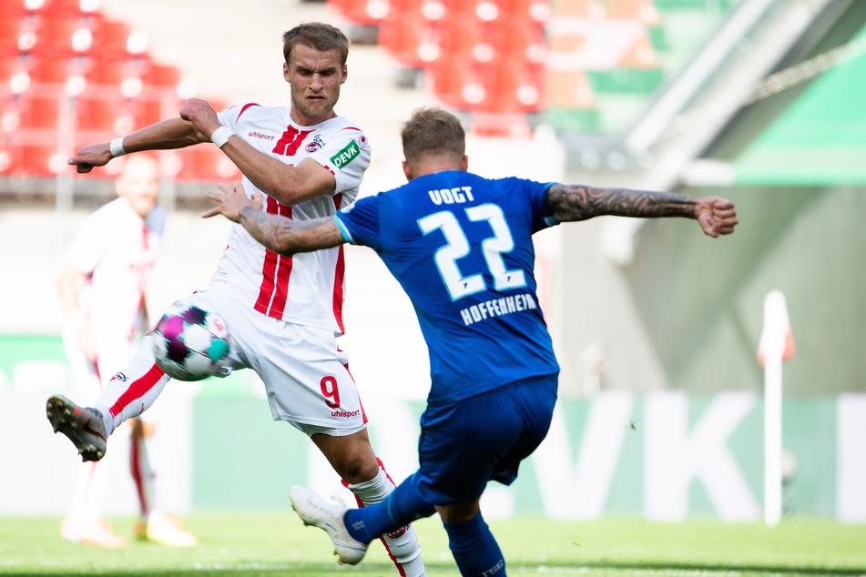 Neuzugang Sebastian Andersson (29) hat sich beim Spiel des 1. FC Köln gegen die TSG Hoffenheim verletzt.