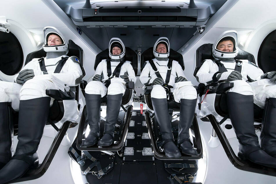 SpaceX launches four astronauts in history-making Dragon capsule!