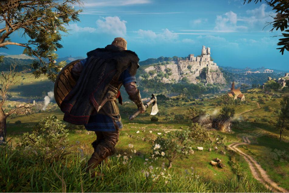 """In """"Assassin's Creed Valhalla"""" erobern wir als Wikinger-Anführer Eivor die Königreiche Englands."""